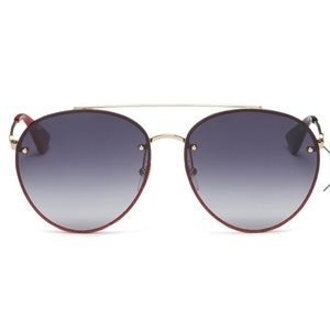 Gucci Glitter Rim Aviator Sunglasses